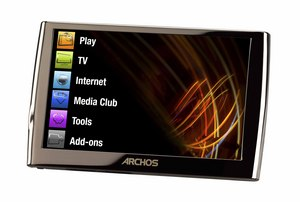 The ARCHOS 5 Internet Media Tablet is equipped with the processing power of a PC, along with WiFi and 3G capabilities for optimal Web browsing - all on an ultra-thin, brilliant 5-inch touch-screen. The ARCHOS 5 lets you enjoy your library of movies, music and photos, manage email and record TV programs for HiDef playback on the pocket-size device.