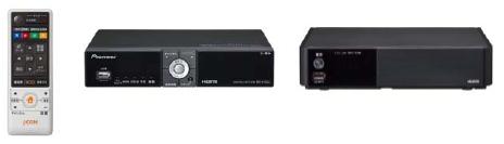Pioneer BD-V302J; HUMAX WA-7000