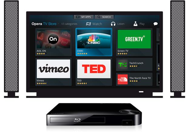 Opera TV Store Samsung Blu-ray