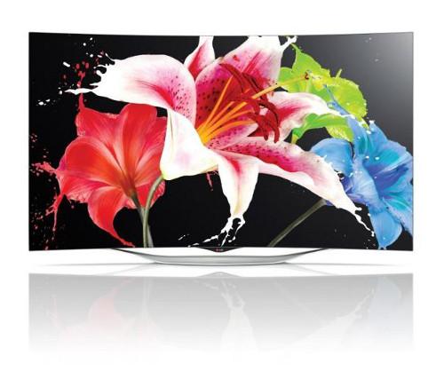 LG Curved OLED TV - Model 55EC9300