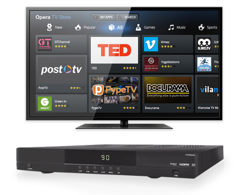 Altech launches Opera TV Store