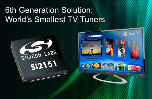 Silicon Labs 6th Generation TV Tuners