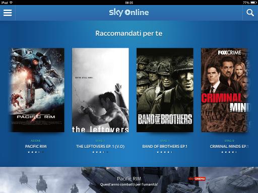 Sky Online - Raccomandati per te