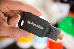 Matchstick Streaming Device powered by Flint
