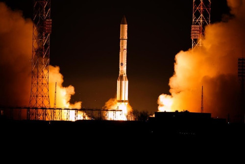 EUTELSAT 9B launch - Photo courtesy of International Launch Services (ILS)