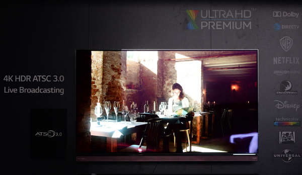 Live ATSC 3.0 Broadcast During CES 2016 Delivers 4K UHD To Next-Gen LG OLED 4K TVs