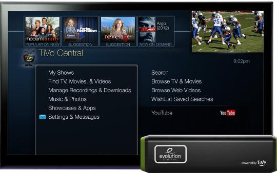 Evolution Digital IP Hybrid STB Powered by TiVo Inc