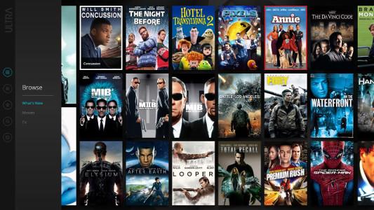 4K Ultra HD movie streaming service ULTRA