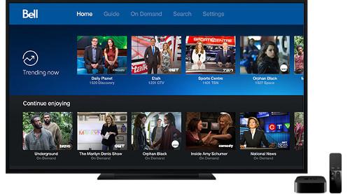 Bell Canada - Bell Fibe TV on Apple TV