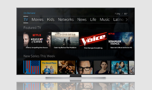 Comcast XFinity TV - Netflix X1