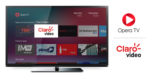Opera TV expands reach of Claro Video in Latin America | Digital TV News