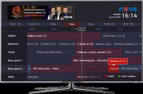 TV Nova HbbTV 2