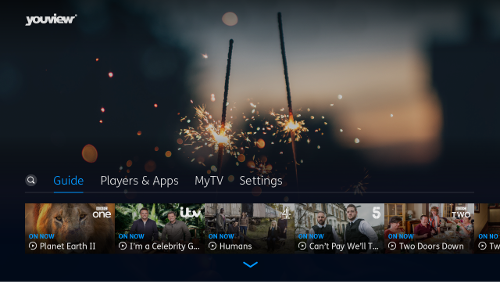 YouView Main Menu Guide