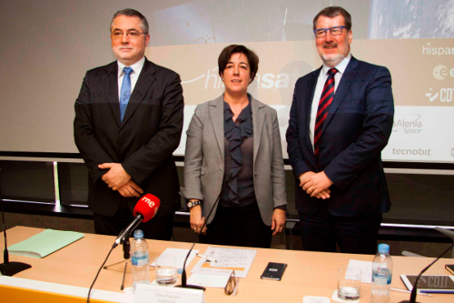 Juan Carlos Cortés, Elena Pisonero and Xavier Lobao