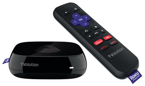 PLDT (Philippine Long Distance Telephone) TVolution-Roku STB