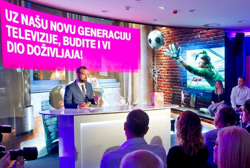 Hrvatski Telekom presents a new generation of MAXtv