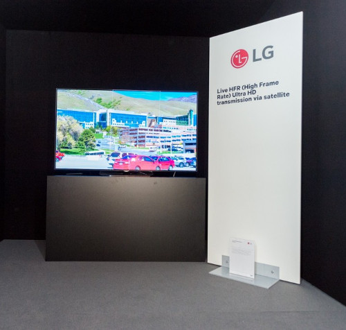 LG-Astra Live High Frame Rate (HFR) demo at SES