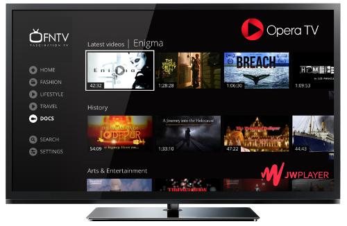 Opera TV - JW Player