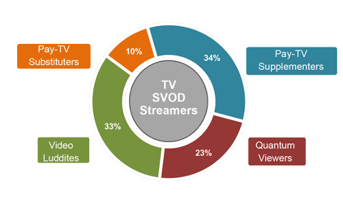 Pay-TV Supplementers, Pay-TV Substituters, Quantum Viewers, Video Luddites