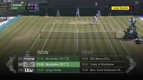 BBC iPlayer EPG restart