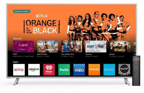 VIZIO SmartCast TV screen