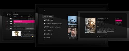 Zenterio-Hrvatski Telekom MAXtv User Interface
