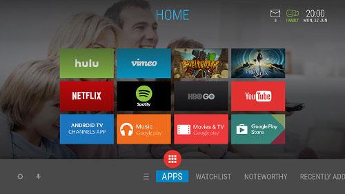 ADB graphyne2 Android TV Screen