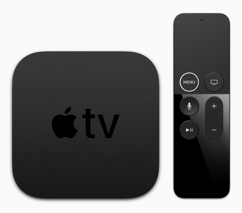 With the introduction of Apple TV 4K, the Siri Remote gets a subtle redesign with a new white circle around the 'menu' button