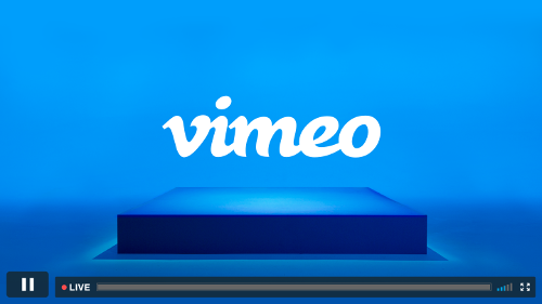 Vimeo screen