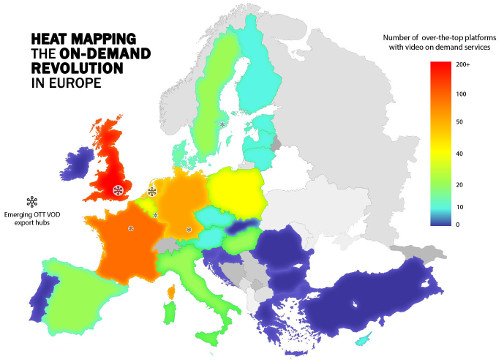 European Media Map - VOD