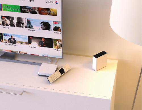 Homescreen Swisscom TV WLan Box