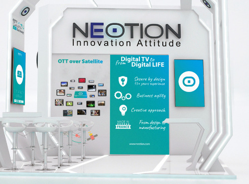 NEOTION OTT-over-Satellite at MWC 2018