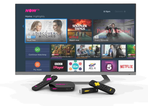 NOW TV Box UI