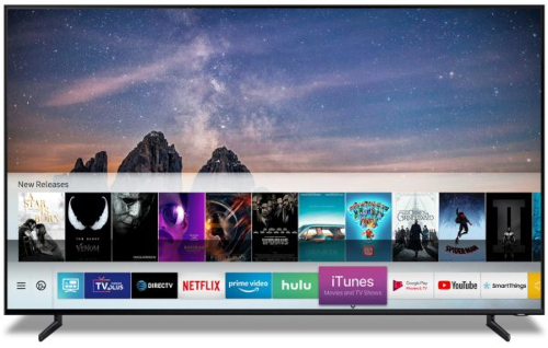 Samsung TV - iTunes Movies and TV shows