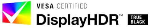 VESA-certified DisplayHDR logo