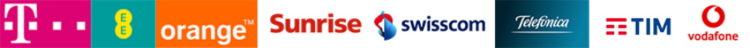 Samsung 5G EU Rollout - Deutsche Telekom, EE, Orange, Sunrise, Swisscom, TIM (Telecom Italia), Telefónica, Vodafone