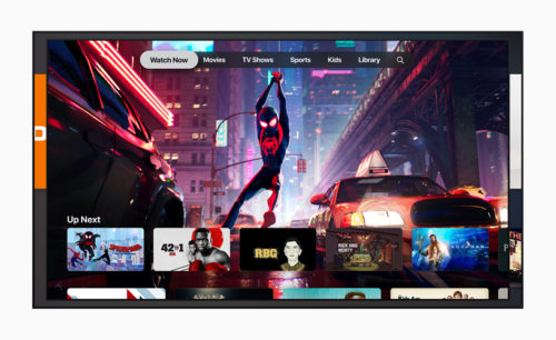 Apple TV app Spiderverse