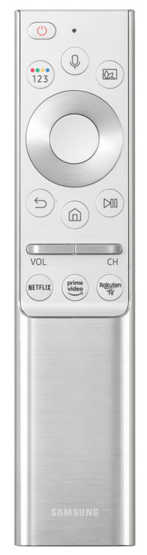 Samsung Remote Control with Rakuten TV button