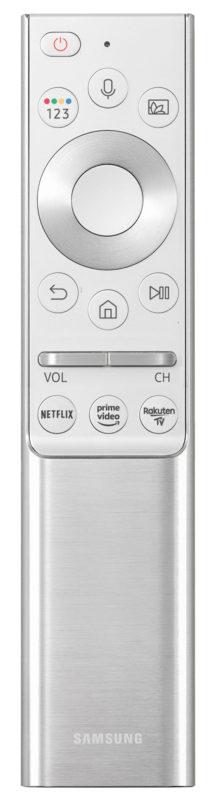 Samsung Remote Control with Rakuten TV button