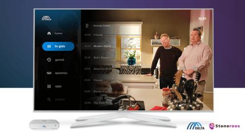 Stoneroos-DELTA Fiber Nederland TV screen