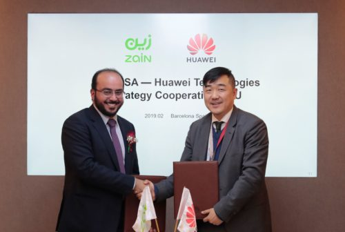 Zain KSA and Huawei Sign Agreements