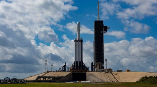 Arabsat 6A and Falcon Heavy by SpaceX