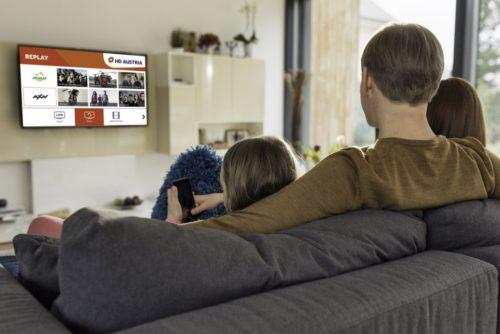 HD Austria Smart TV App with Vestel
