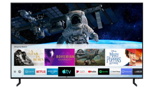 Samsung Apple-TV app screen