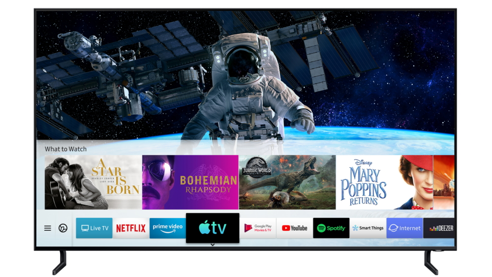 Samsung TVs first with Apple TV app and AirPlay 2 | Digital