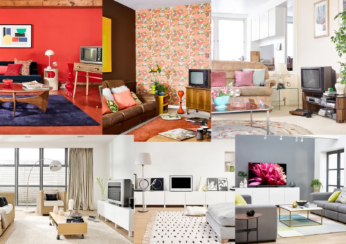 Sony Corporation - TV living room through the decades