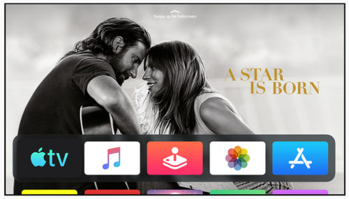 Apple tvOS 13 - A Star Is Born