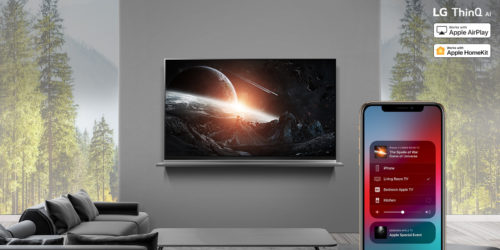 With AirPlay 2, LG 2019 AI TV owners can effortlessly stream content – including Dolby Vision titles – from iPhone, iPad and Mac straight to their TV sets.