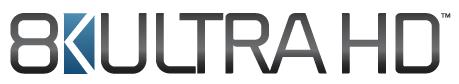 8KUltra HD logo