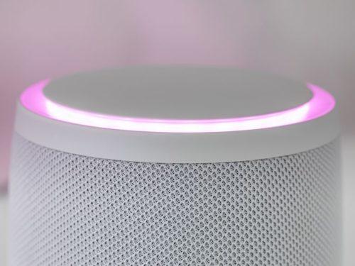 Magenta Smart Speaker